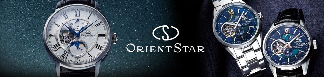 Zegarki automatycznie Orient Star.