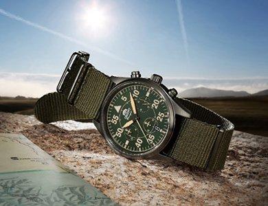 Zegarki Orient w stylu pilot - trzy nowe modele w sportowej kolekcji