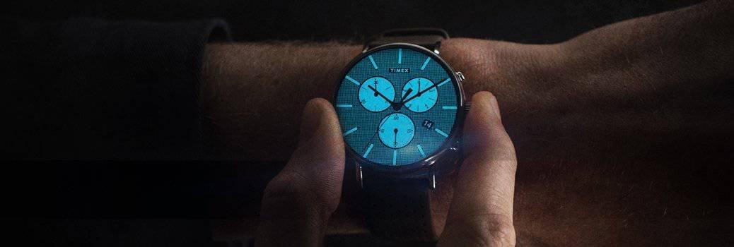 Indiglo w zegarku Timex