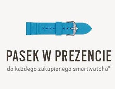 W letniej promocji pasek gratis do zakupionego smartwatcha