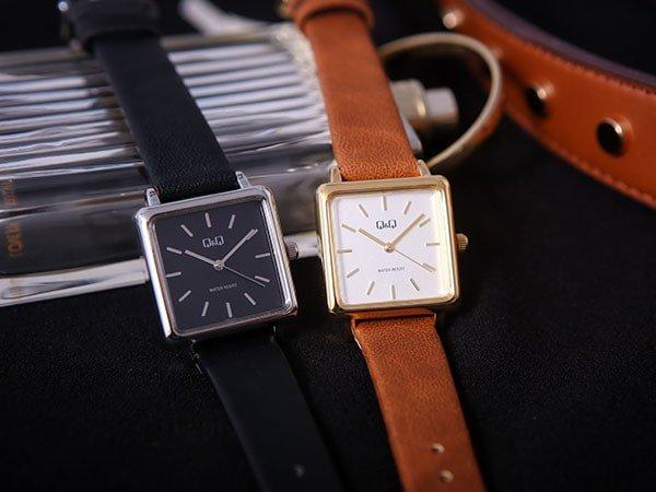 Zegarki QQ damskie na paskach