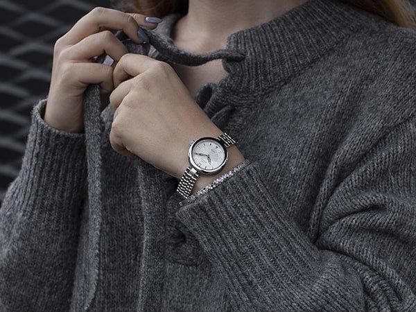 Ponadczasowa klasyka zegarków Bisset dla niej