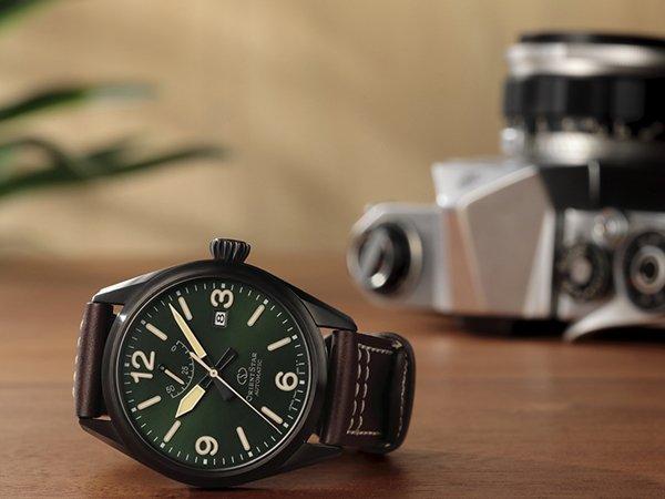Zegarek Orient Star na skórzanym pasku