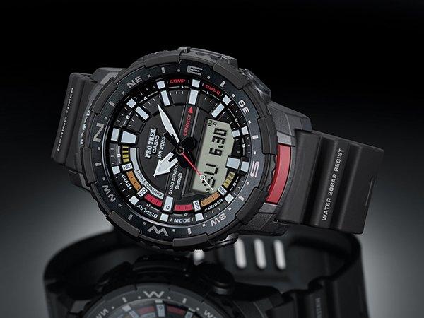 Autonomiczny zegarek na co dzień Casio ProTrek PRT-B70