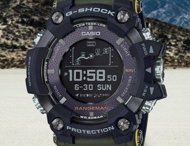 Nowy zegarek survivalowy G-SHOCK Rangeman Professional