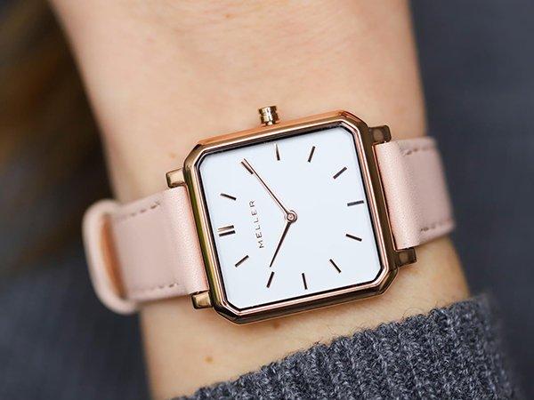 Zakochaj się w kwadratowej kopercie zegarków MELLER Madi