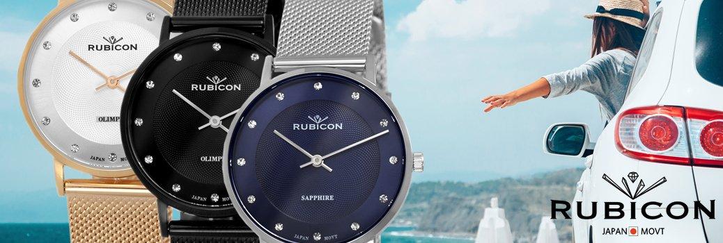 Japońskie zegarki Rubicon
