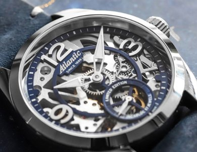 Limitowany Atlantic Seaflight Skeleton Mechanical