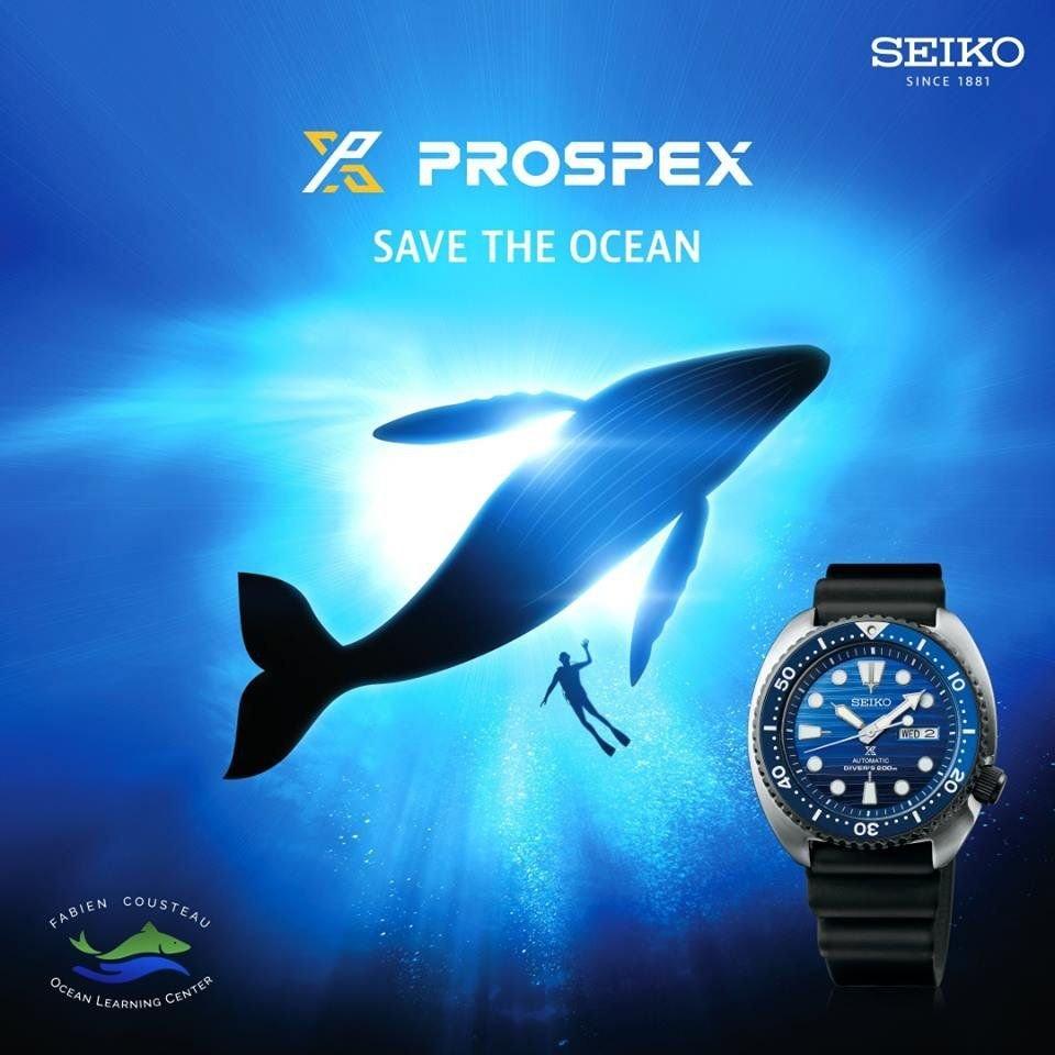 Seiko i akcja Save the Ocean