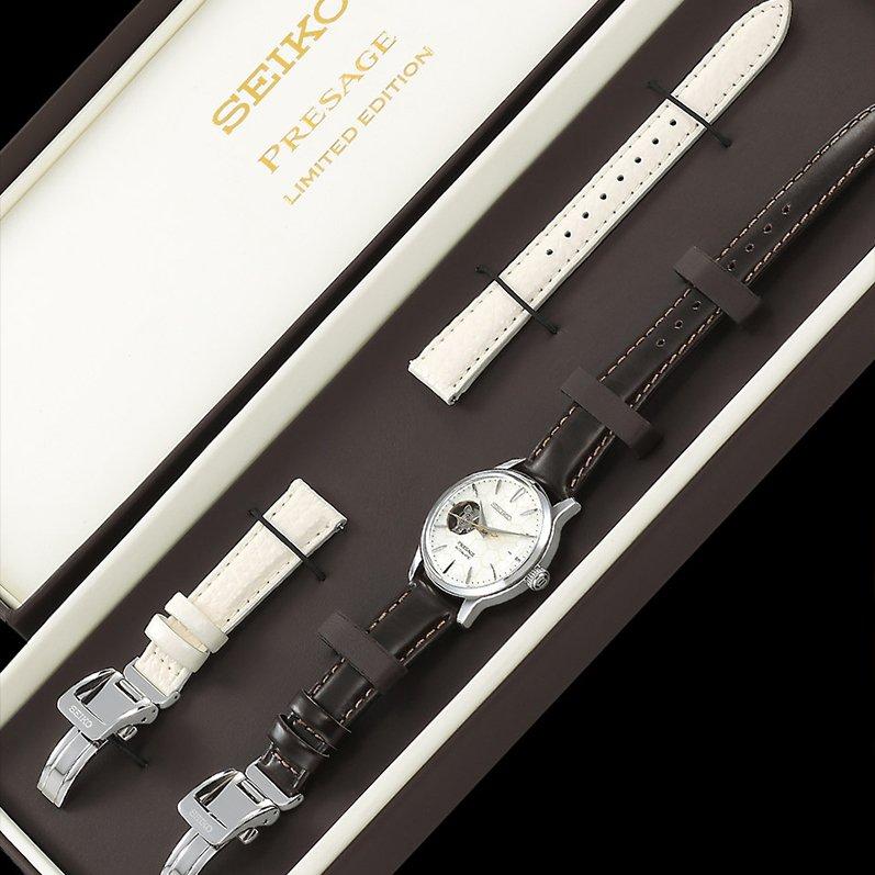 Limitowany Seiko Presage z wymiennym paskiem pozwalającym na małe zmiany w designie niesamowitego zegarka.