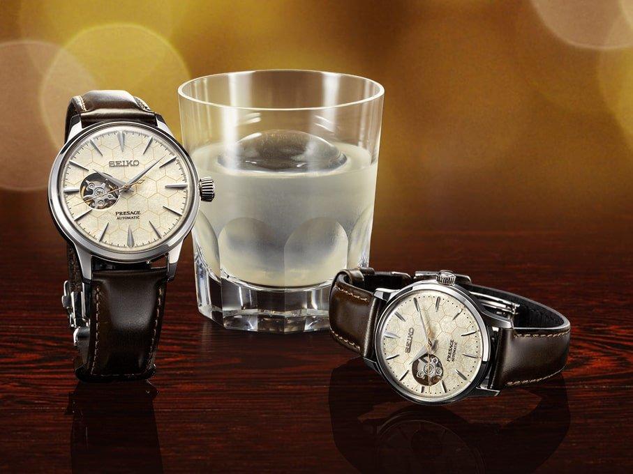 Niezwykle piękne zegarki Seiko Presage Cocktail Honeycomb