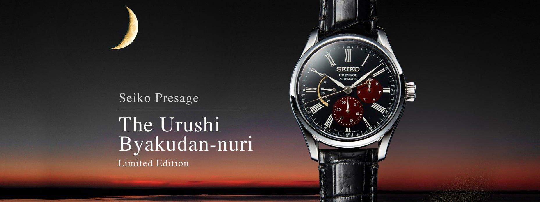 Limitowany zegarek Seiko Presage SPB085J1 inspirowany księżycem.