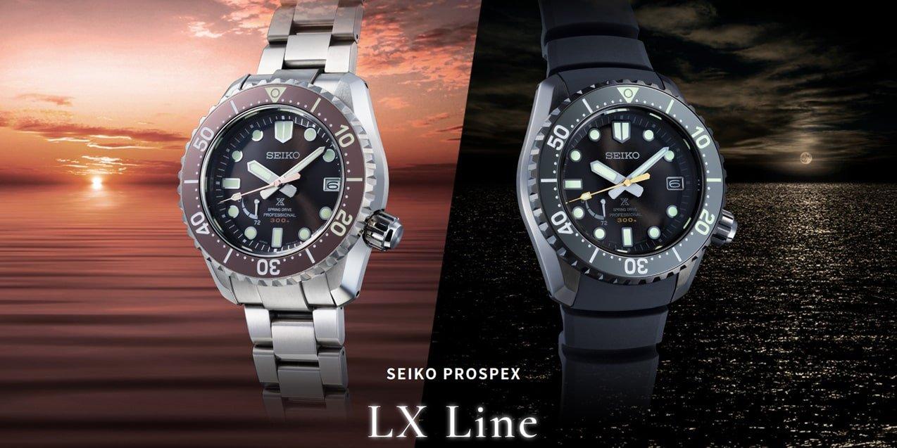 Zegarki Seiko Prospex z linii premium