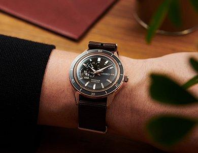 Nowa seria Seiko Presage Style60s inspirowana historycznym zegarkiem Seiko Crown Chronograph