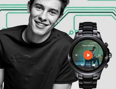 Shawn Mendes twarzą smartwatchy Armani Connected