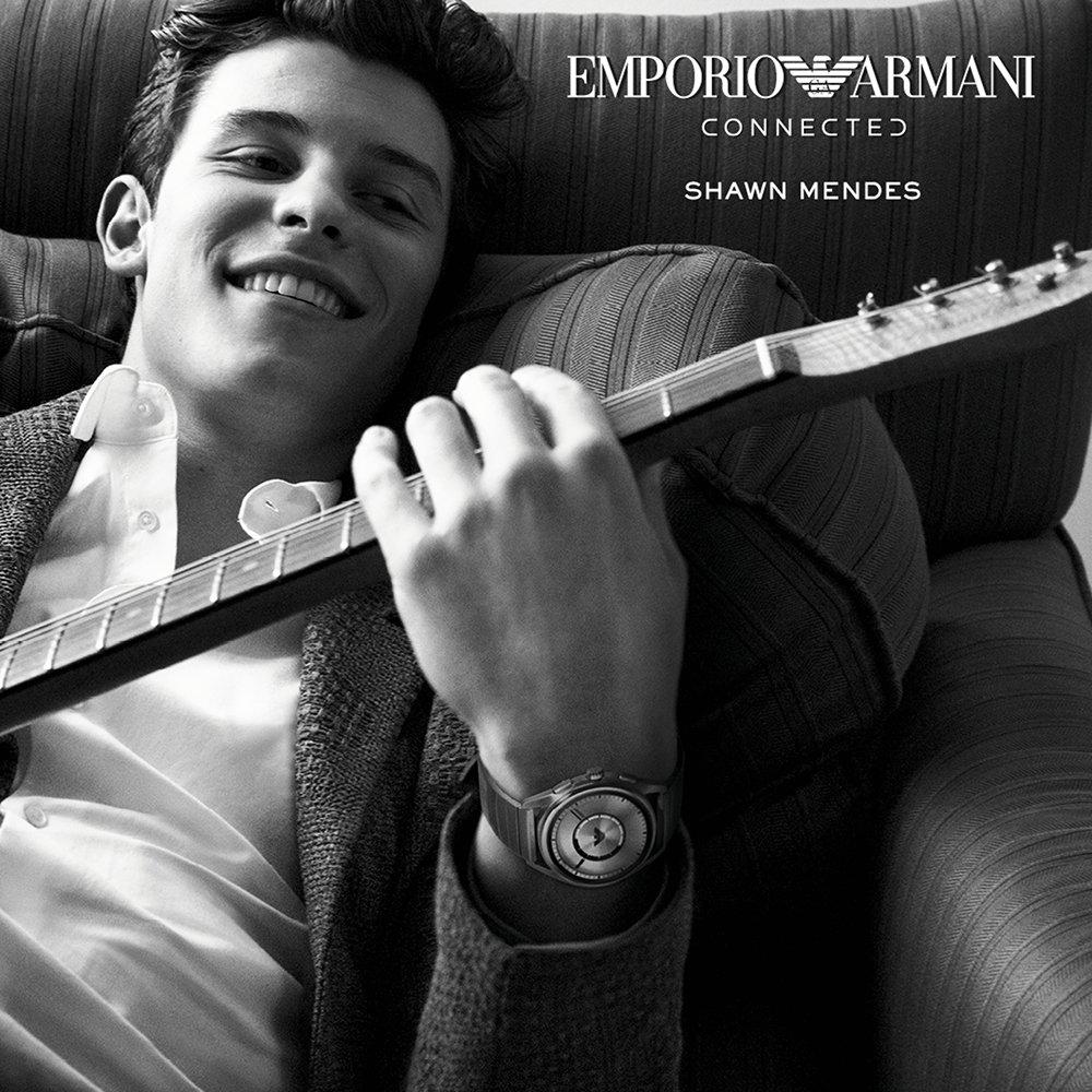 Shawn Mendes dla zegarków Emporio Armani