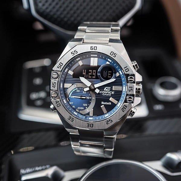 Zegarki Casio na bransolecie klasycznej