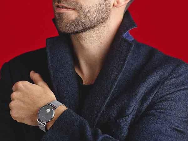 Klasyka i nowoczesny minimalizm w zegarkach Meller na bransolecie mesh