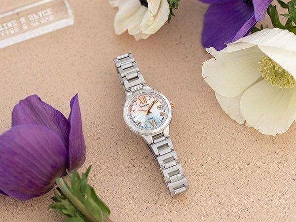 Elegancki wygląd damskich zegarków Casio Sheen.