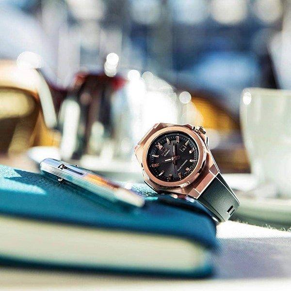 Wytrzymałe zegarki Baby-G G-MS dla kobiet