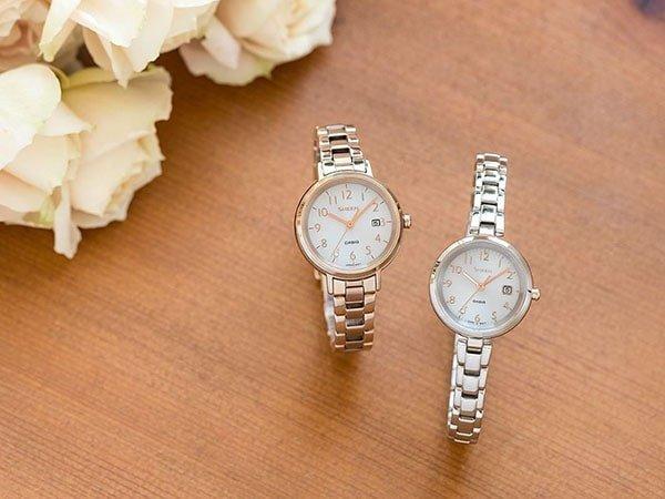 Damski zegarek Casio Sheen od japońskiego giganta.