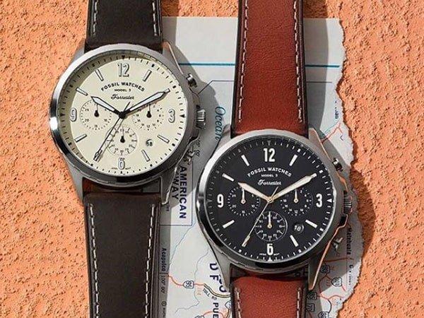 Amerykańskie zegarki Fossil