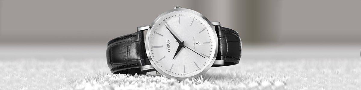 Zegarek Lorus na skórzanym pasku