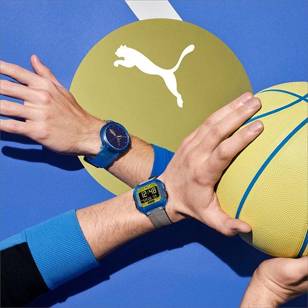 Sportowe dziedzictwo zegarków Puma