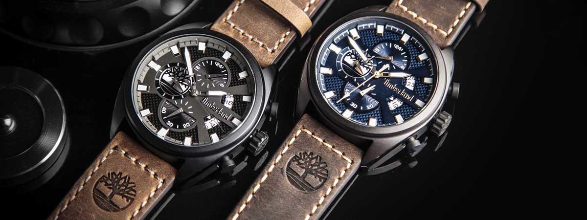 Zegarki Timberland z subtarczami