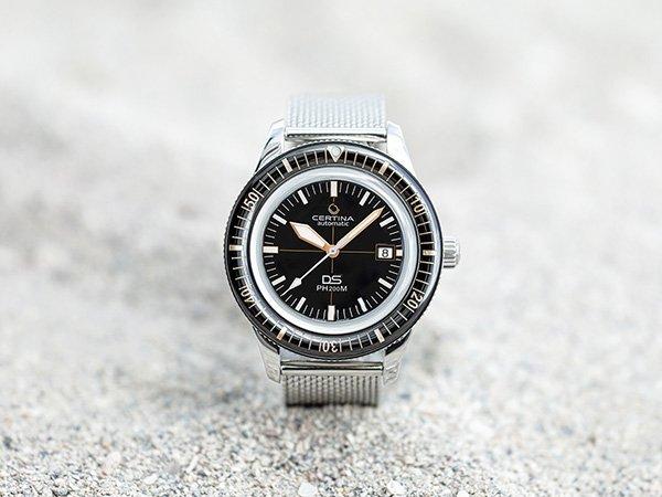 Certina Diver – zegarki nurkowe z prawdziwego zdarzenia