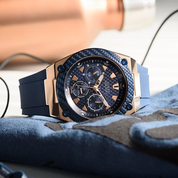 Ponadczasowa stylistyka w męskich zegarkach Guess pełnych elegancji oraz dobrego męskiego stylu.