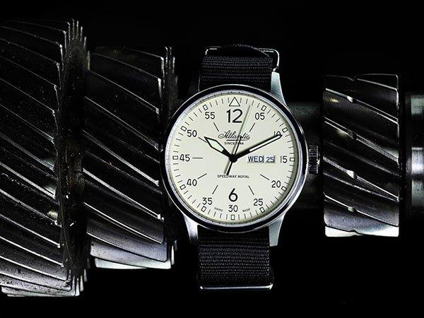 Zegarki Atlantic z paskami NATO