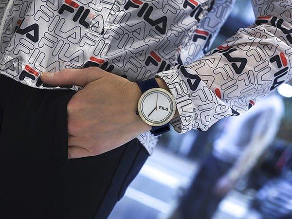 Włoskie zegarki Fila