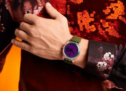 Designerski zegarek Swatch