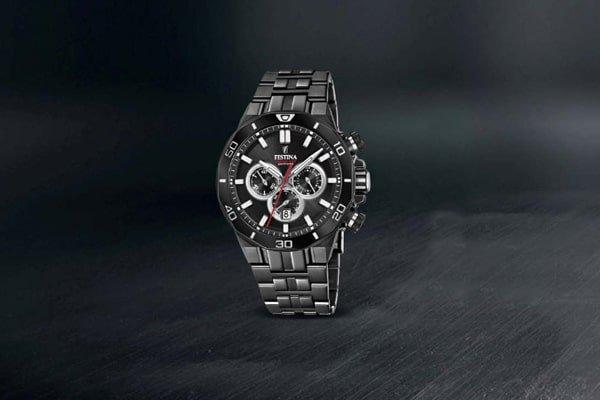 Orginalna stylistyka oraz wysoka wytrzymałość zegarków Festina chronograph.