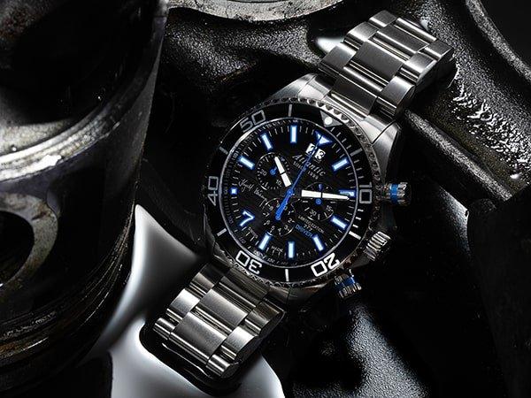 Męski zegarek Atlantic Krzysztof Hołowczyc 777