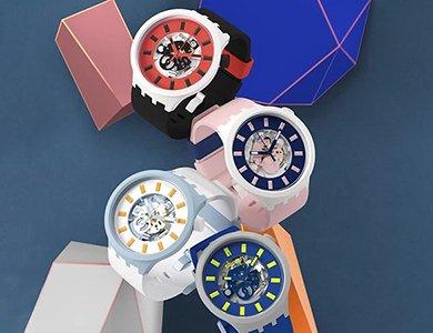 Innowacyjne tworzywo Swatch Bioceramic w kolekcji Big Bold