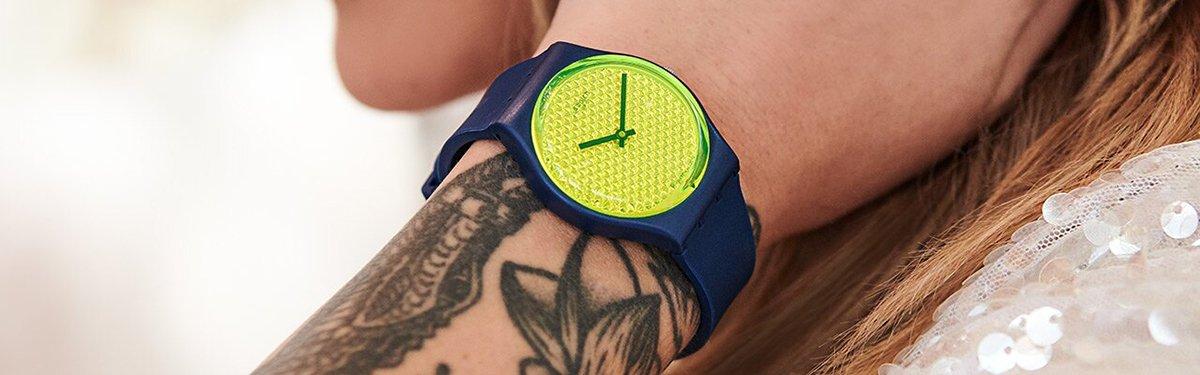 Oryginalne zegarki Swatch