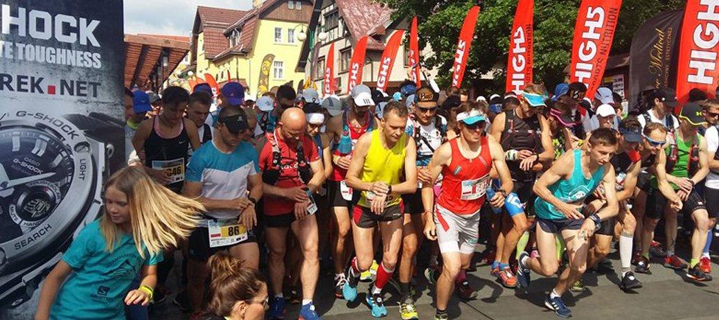 Rozpoczęcie czwartej edycji ultramaratonu górskiego.