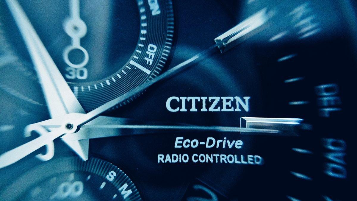 technologie marki Citizen Eco-Drive i Radio Controlled