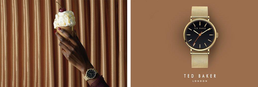 Zegarki Ted Baker z nowoczesnym designem.