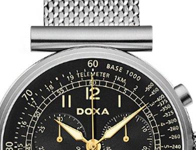 Doxa Telemeter - nietypowy zegarek męski