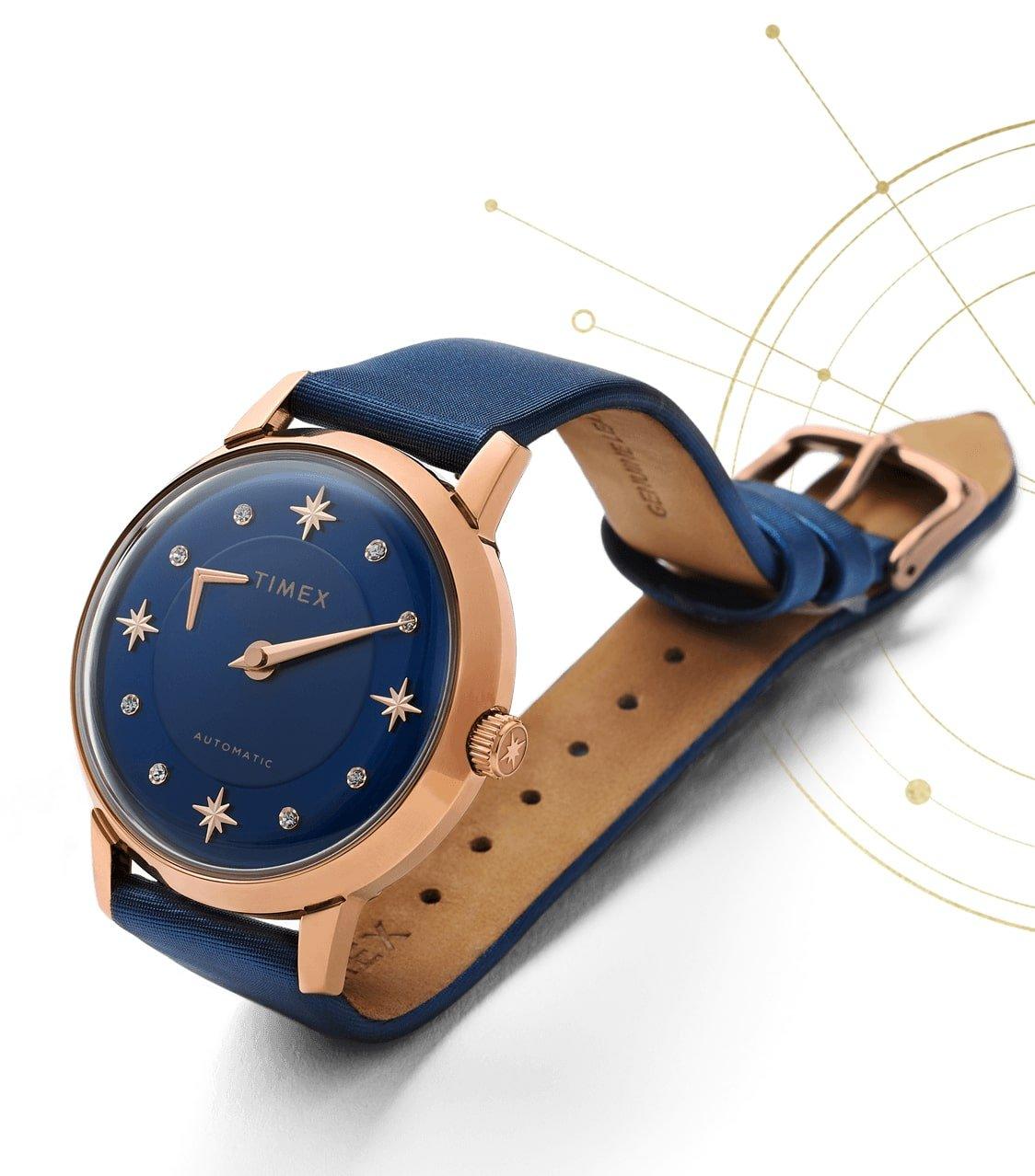 Stylowy zegarek Timex Crystal Opulence TW2T86100