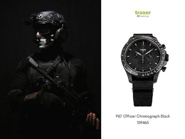 Jednostki specjalne i zegarki Traser