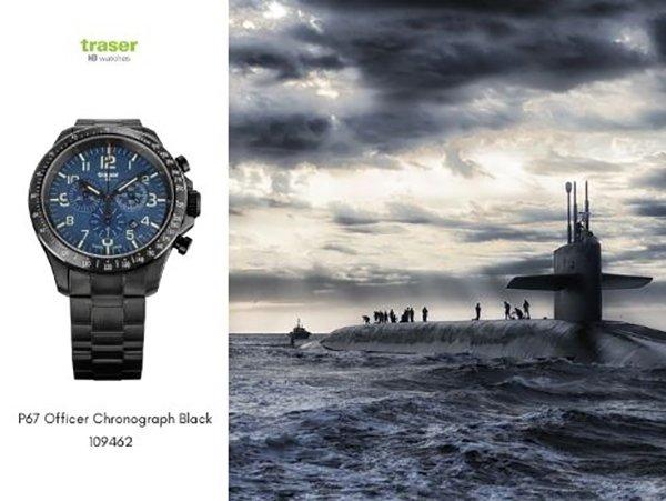 Na morzach i oceanach z zegarkiem Traser