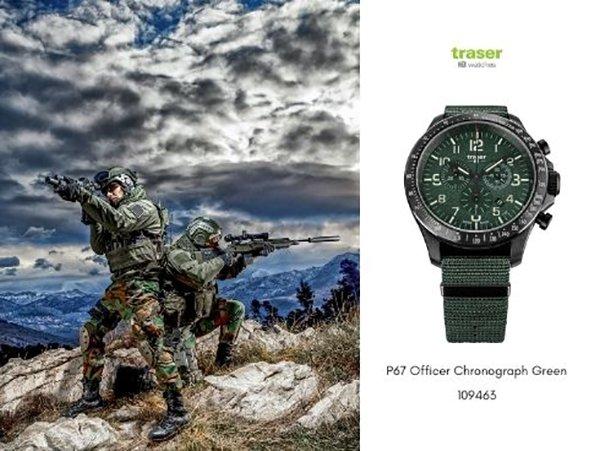 Wojsko Polowe i zegarki Traser