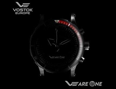 Limitowany zegarek stworzony przez fanów - Vostok Europe VEareONE