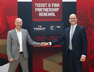 Partnerstwo Tissot i FIBA — przedłużenie współpracy