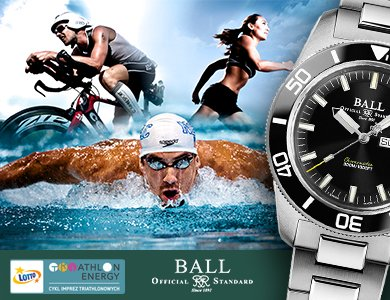Ball Oficjalnym Time Keeperem na zawodach LOTTO Triathlon Energy