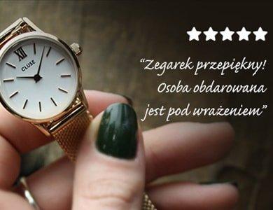 KONKURS! Dodaj opinię o zegarku, wygraj bon na kolejne zakupy!
